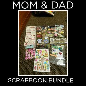 """Scrapbook Bundle #6 """"MOM & DAD"""""""